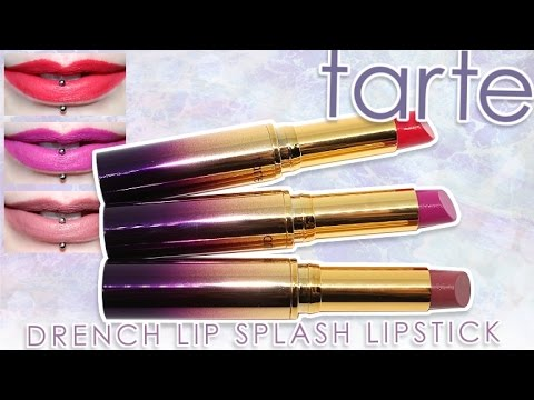 Review Swatches Tarte Rainforest Of The Sea Drench Lip Splash