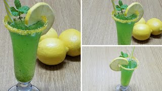 Mint Lemonnade Margarita drink|How to make mint lemonade margarita at home Ramazan special Drink kwf