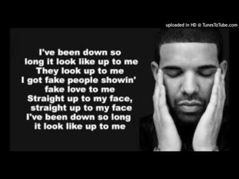 Drake - Fake Love With Lyrics