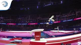 Magdalena COUFALOVA (CZE) -  2018 Artistic Gymnastics Europeans, junior qualification vault