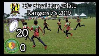 #rangers7s U12 👦 Semi Final : Lavender Rugby Club [20] vs [0] ...