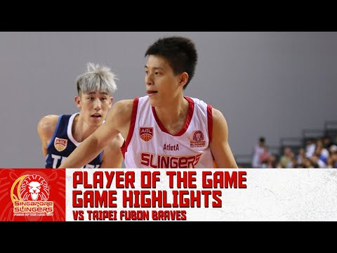 PLAYER OF THE GAME: Leon Kwek With 26 Points Vs Taipei Fubon Braves