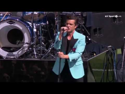 The Killers covering 'Forgotten Years' by Midnight Oil