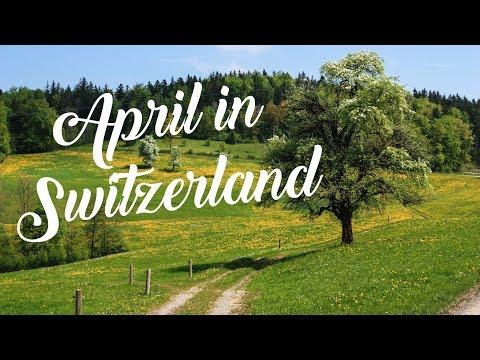 April for Families in Zurich Switzerland