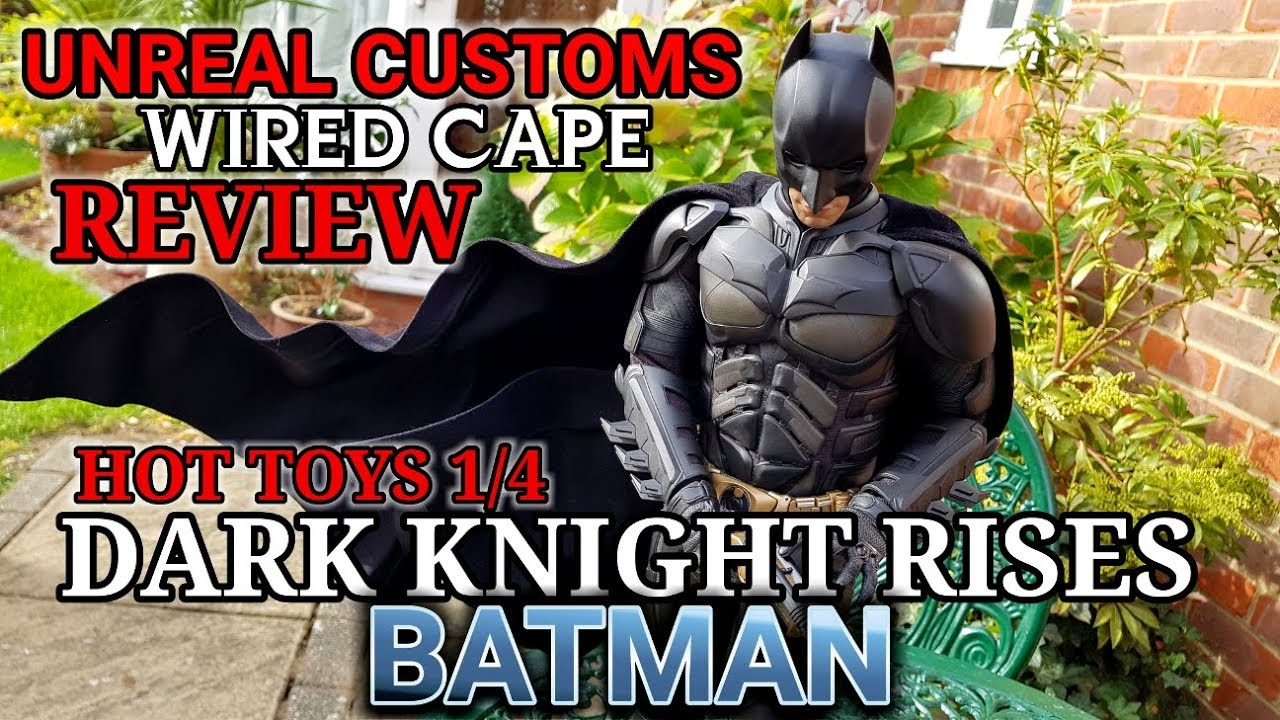 osw.zone to Unreal Customs  The TDKR 1/4 scale wired cape is $110 USD Like, comment, sha...