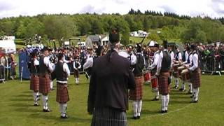 Police service of northern ireland pipe band dungannon 2011