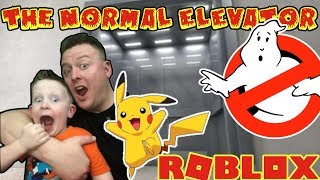 NEW ! The Normal Elevator (REMASTERED) ROBLOX!! Pokemon Battles, Ghosts, Jurassic Park AH!