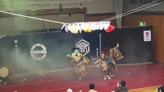 第4回憩い食堂『江津高校卒業神楽 塵輪』