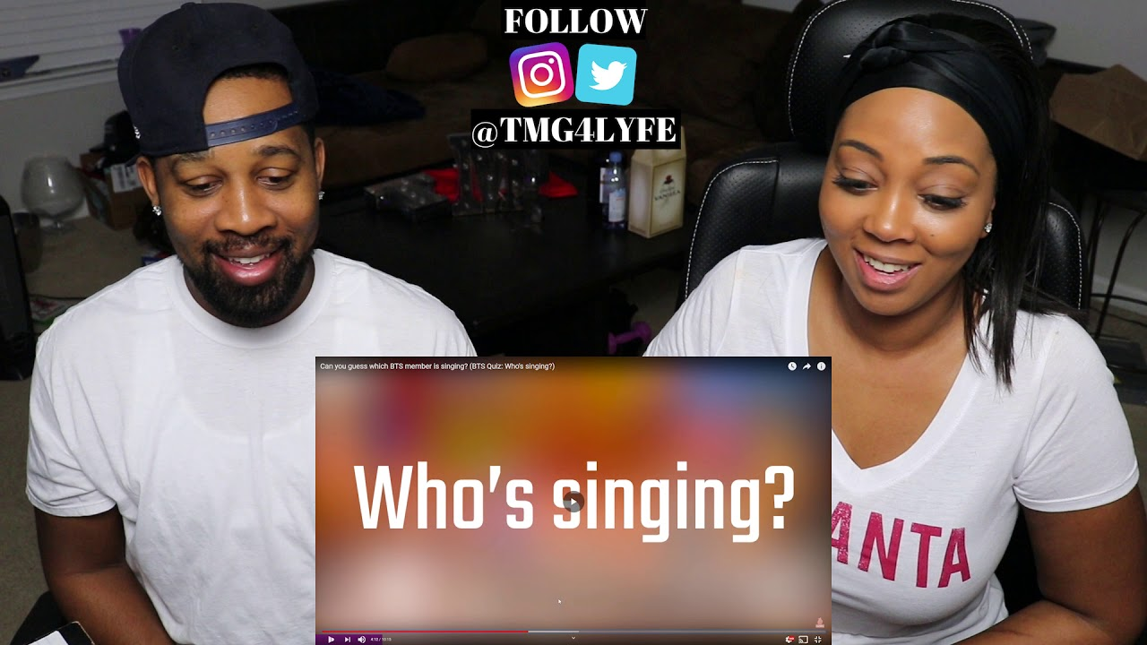 Can You Guess Which Bts Member Is Singing Bts Quiz Who S Singing Reaction Youtube