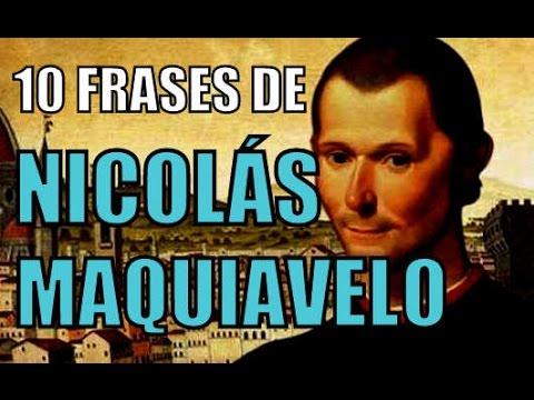 10 Frases De Nicol 193 S Maquiavelo Youtube