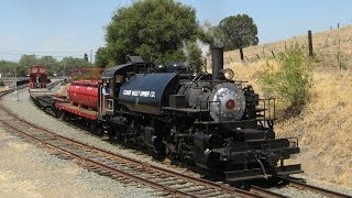 Niles Canyon Railway Steamfest III: Day 3-The Log Train Special
