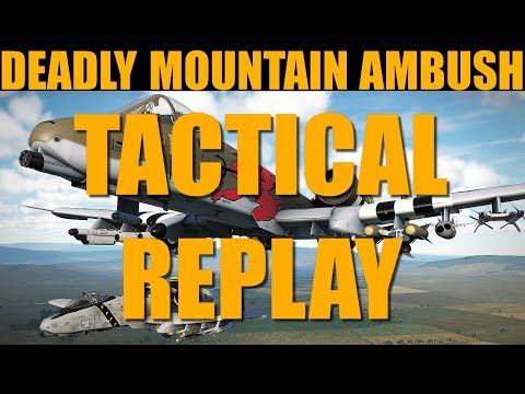 Metal Campaign: DAY 1 Savage Combat In The Mountains   Tactical Replay   DCS WORLD