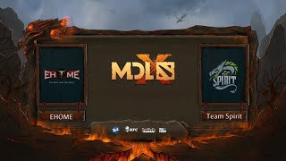 EHOME vs Team Spirit, MDL Chengdu Major, bo1, game 1 [4ce vs Lex]