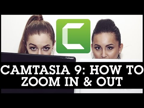 Camtasia 9 How To Zoom In and Out On Your Videos