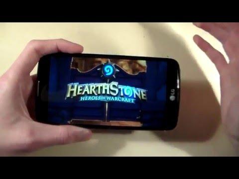 Игры LG K10 (Hearthstone, WoT Blitz, MortalCombatX)