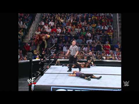 Trish Stratus wins the Women's Championship: Survivor Series, November 18, 2001