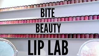 Making My Own CUSTOM LIPSTICK At The NYC Bite Beauty Lip Lab
