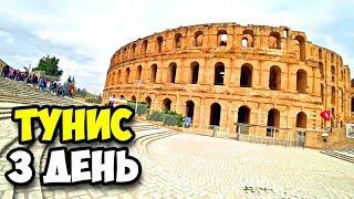 Тунис || 3 день || Колизей в городе Эль Джем || Музей мозаики || Заплыв в крытом бассейне отеля