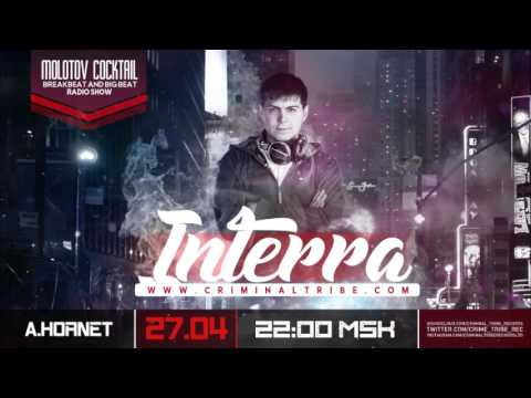 Molotov Cocktail #043 - Interra [RUS] guest breakbeat mix (27.04.17)