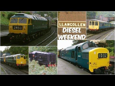 Llangollen Railway 23.9.17-Diesel Weekend Gala -Class 8 26 37 47 (first run of 1566 for 5 years) 104