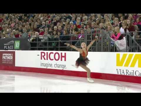 Sarah Tamura 2017 Canadian National Figure Skating Championships - FS