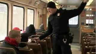 Transit Police Enforce Fares on RTA RedLine