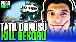 YENİ SEZON KİLL REKORUM!! | PUBG Mobile Erangel Gameplay
