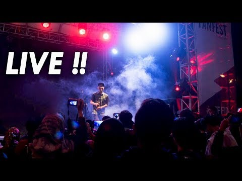 Parody Sayang Live Kery Astina YouTube FanFest Bandung