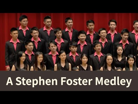 A Stephen Foster Medley (American folk) - National Taiwan University Chorus