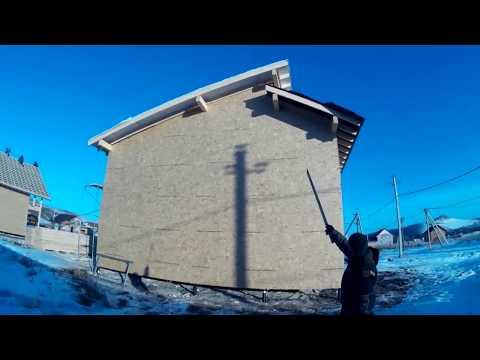 Строительство 2-х каркасных домов в Красноярске. Строй и Живи.