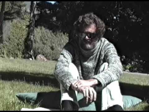 Terence McKenna At Esalen Institute In 1989