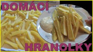 Čerstvé domácí bramborové hranolky