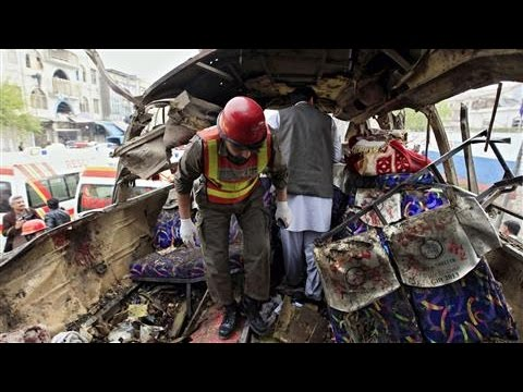 Pakistan Bus Blast Kills Government Workers