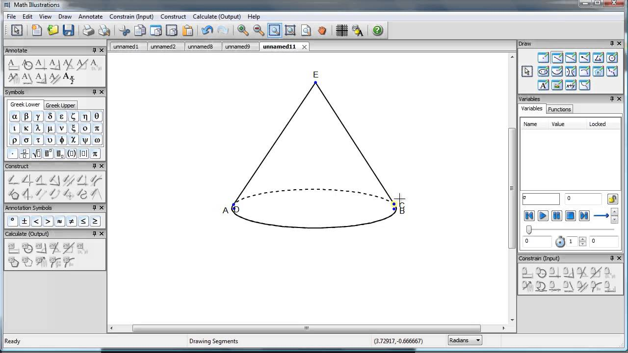 How to create 3d objects in math illustrations cones youtube ccuart Images