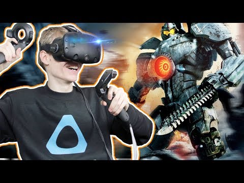 PACIFIC RIM SIMULATOR IN VIRTUAL REALITY | The IOTA Project VR (HTC Vive Gameplay)