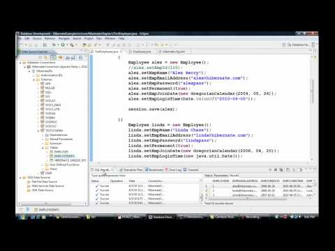 Java Hibernate Tutorial Part 10 - Auto Generate Primary Key