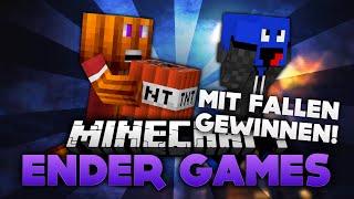 Nur mit Fallen gewinnen! - Minecraft Ender Games (Deutsch/German)