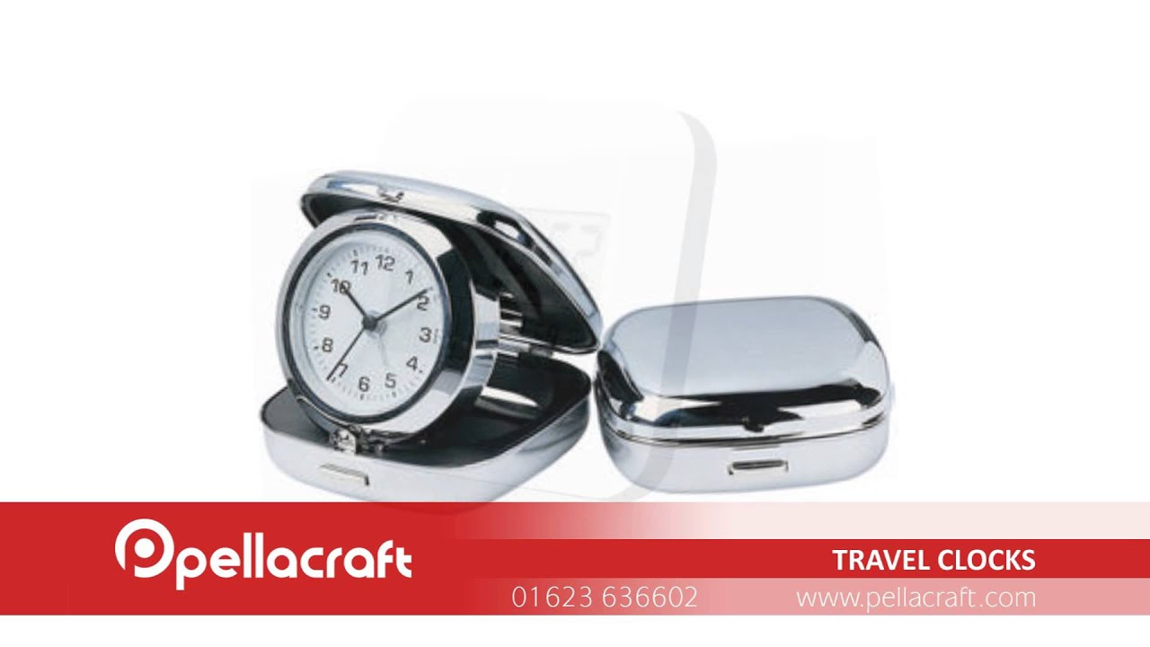Clocks & Watches - Promotional Travel Clocks