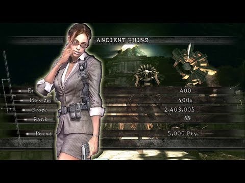 Ancient Ruins NO MERCY 2471k Business Sheva  Resident Evil 5 PS4 Mercenaries United
