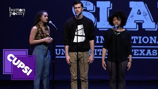 "Jasmine Combs, Nayo Jones & Nick Stanovick - ""Ghosts"" (CUPSI 2016, Courtesy of Button Poetry)"