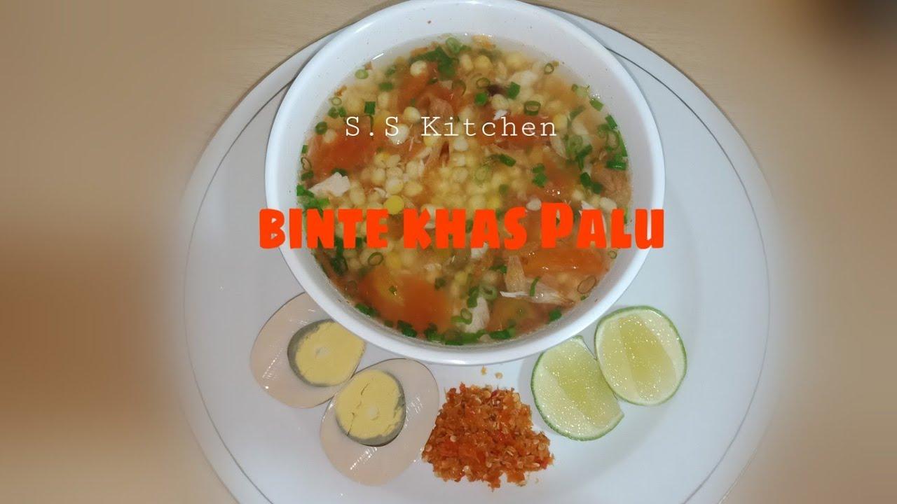 Resep Binte Jagung Pulut Asli Sup Jagung Makanan Khas Palu Kaili Youtube