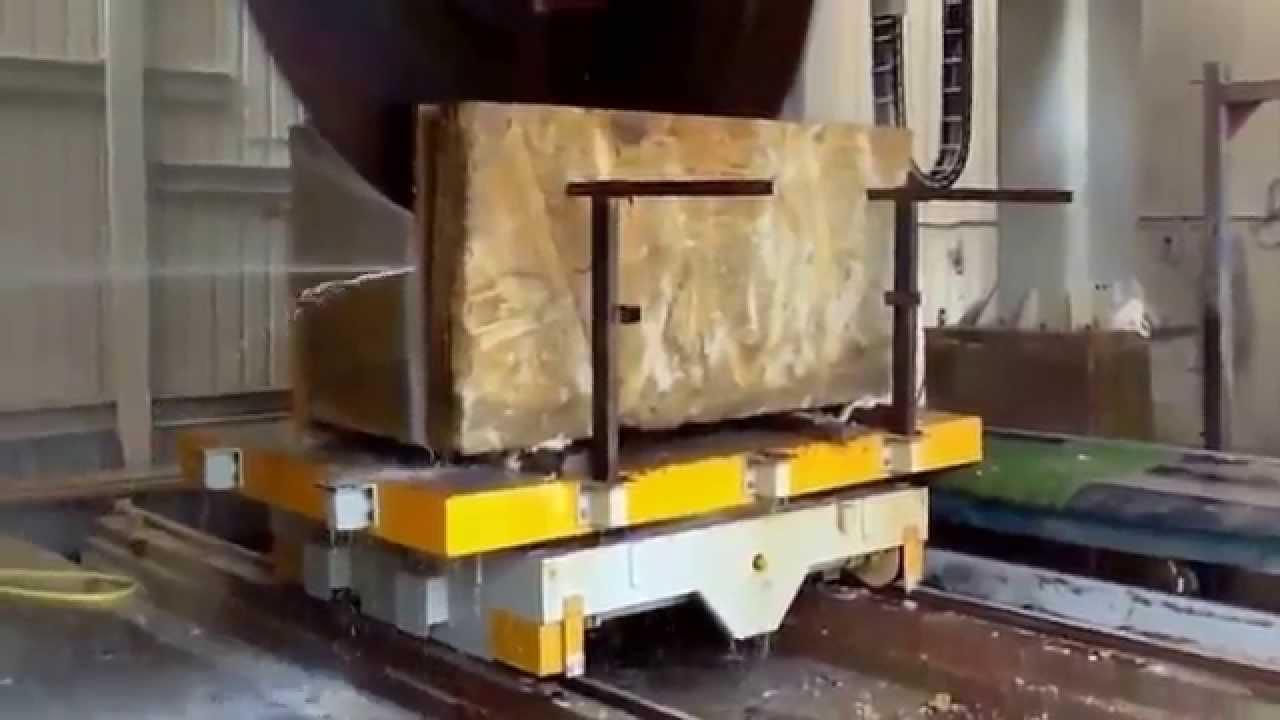 big breton cutting marble blocks machine youtube