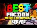 TOP 5 MINECRAFT PE  FACTION SERVERS! (MCPE 1.0.3)