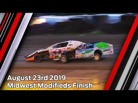 August 23rd 2019, LOWS Wissota Midwest Modifieds Finish