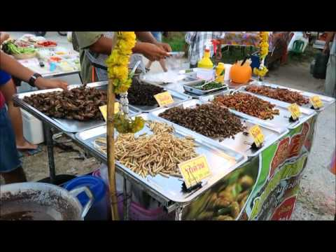 Thai street food eat insects larva scorpion grasshopper thai street food eat insects larva scorpion grasshopper cockroaches recipe market thailand trip forumfinder Image collections