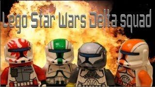 Lego Star Wars delta squad (brickfilm )