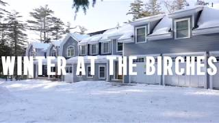 Winter at the Birches | 48 Little Road in Meredith NH | Lake Life Realty   Keller Williams