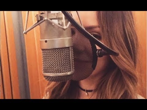 Katharine McPhee's first jazz album recording sessions (Behind the Scenes)