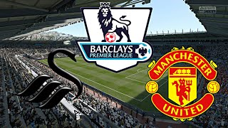 fifa 16 manchester united vs swansea city 4 matchday man 11