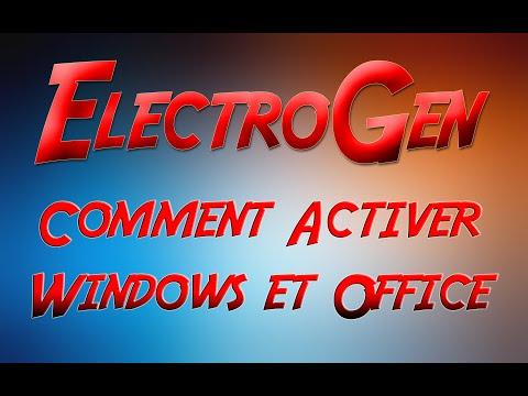 Activer Windows 8 / 8.1 et Microsoft Office 2010 /